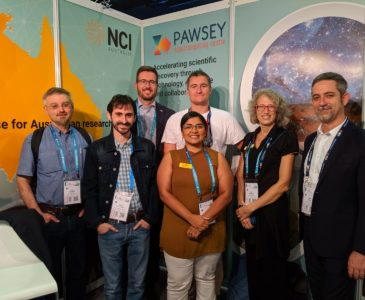Pawsey staff at ISC2019