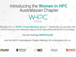 Invitation for the Women in HPC virtual afternoon tea